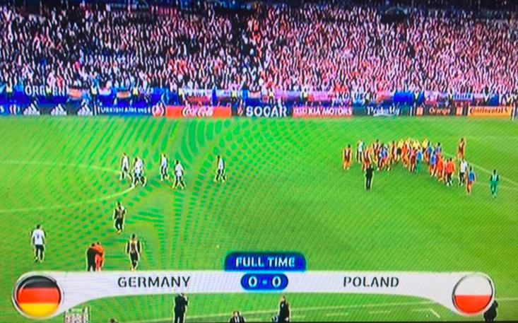 Allemagne pologne premier 0 0 de l euro