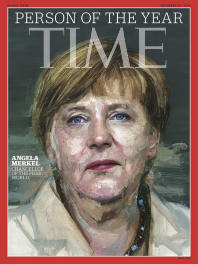 Angela merkel personnalite de l anne e