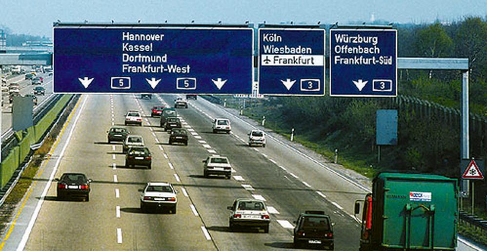 Autoroutes allemandes payantes