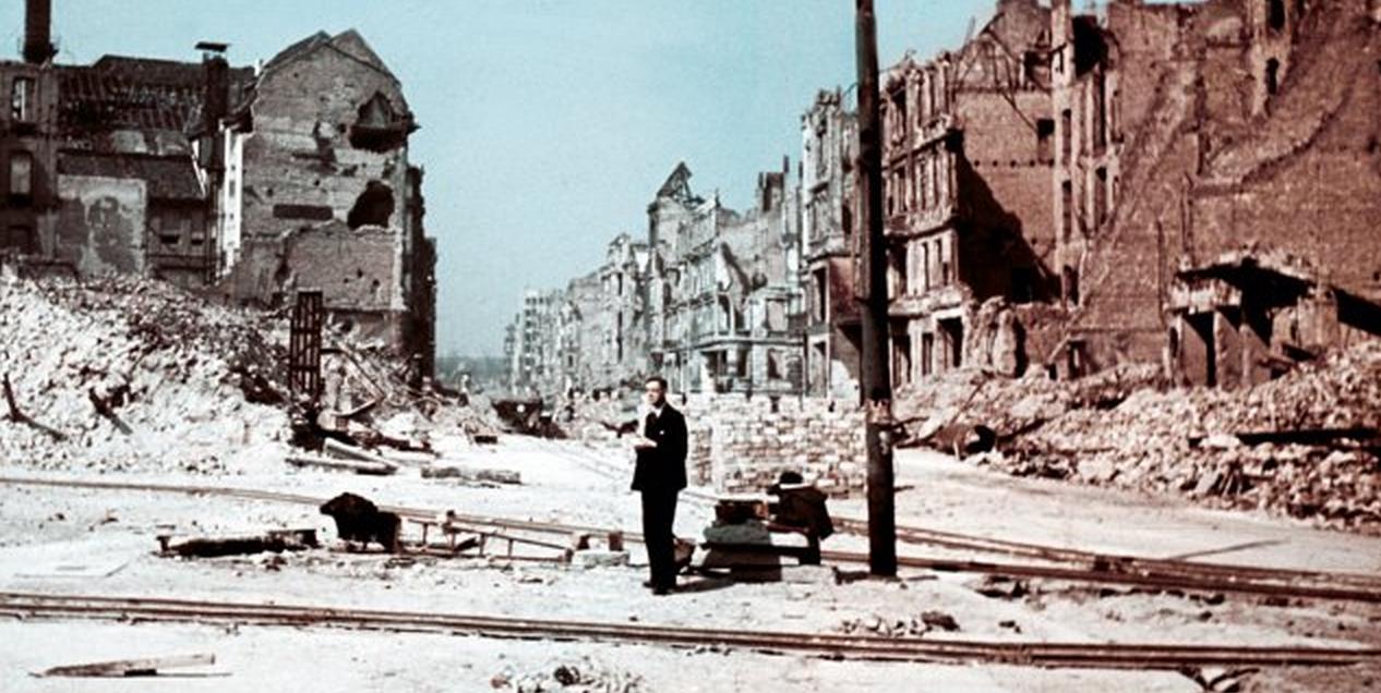Berlin en ruine apre s guerre