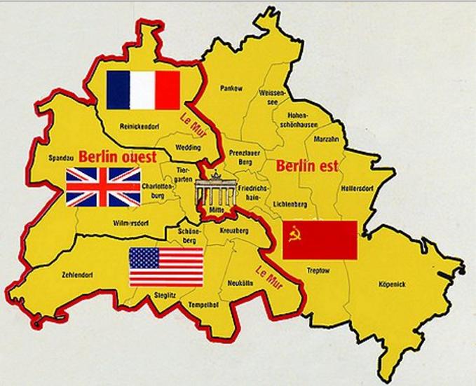 Berlin est berlin ouest