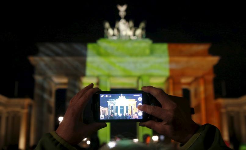 Berlin rend hommage a bruxelles