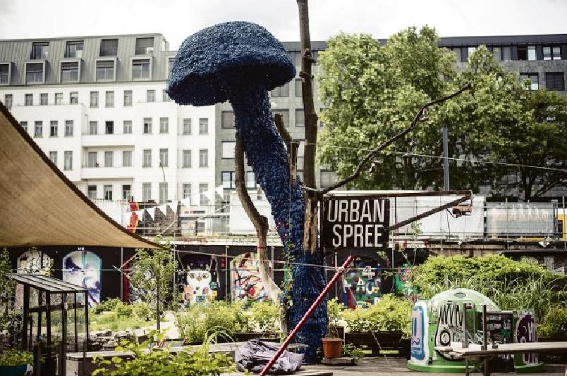 Blue mushroom berlin christiaan nagel