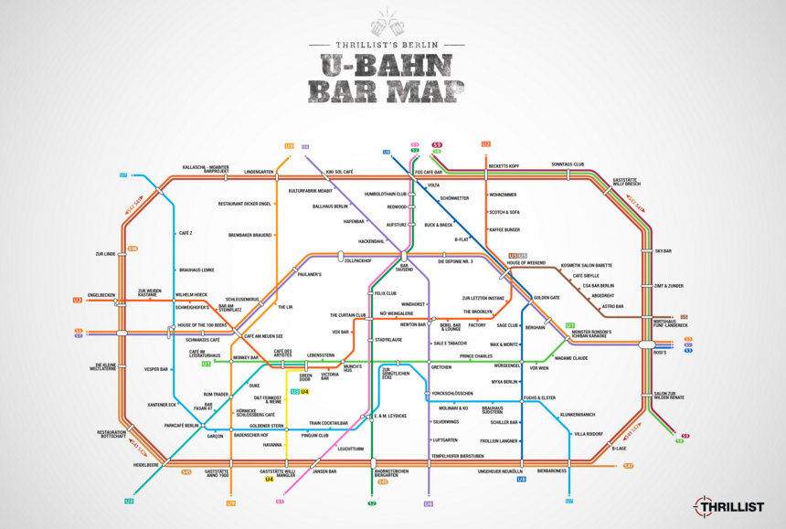 Carte bars berlin