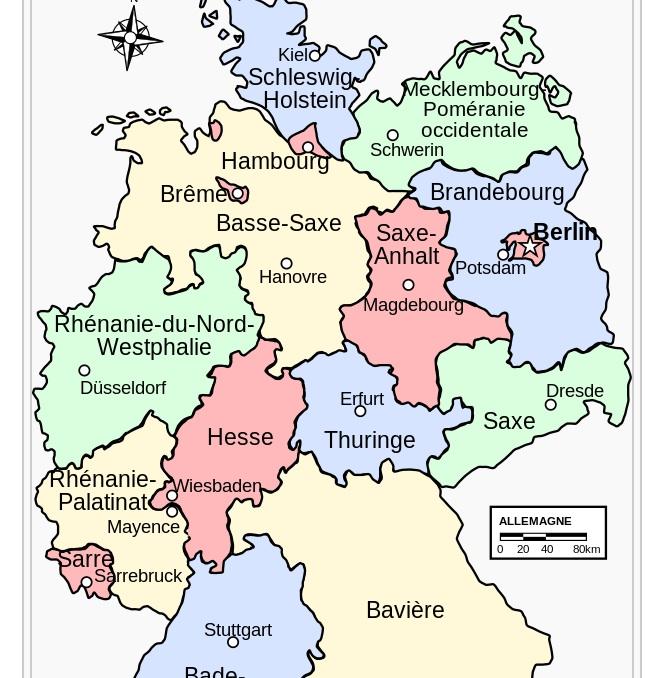 Cartebundesland