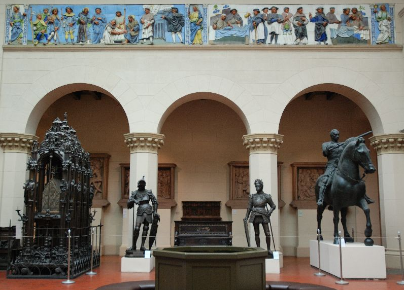 Des sculptures vole es a berlin pendant la guerre