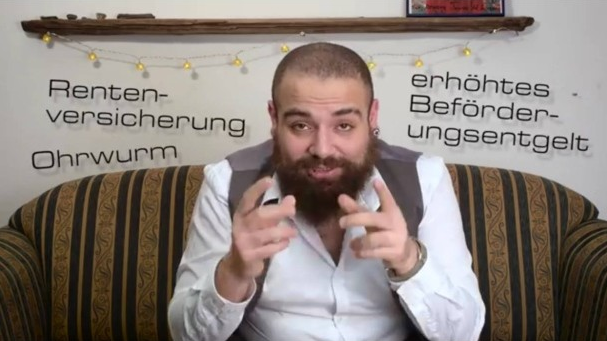 Firas al shater un re fugie syrien star de youtube en allemagne