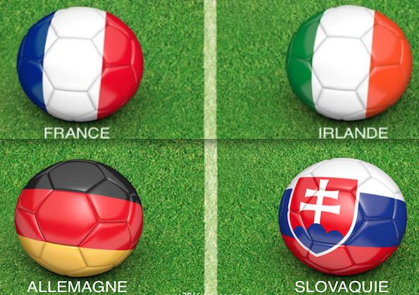 France irlande allemagne slovaquie
