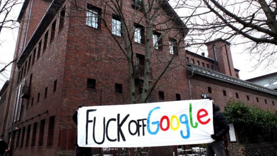 Fuck off google