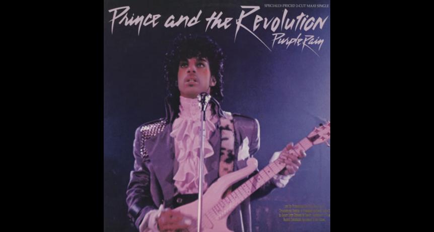 Hommage a prince mort ce 21 avril 2016 avec purple rain