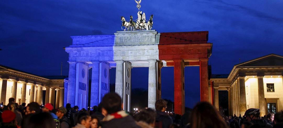 Hommage aux victimes des attentats de paris a berlin