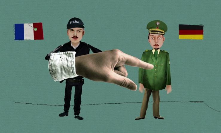 L uniforme de la police allemande