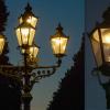 Lampadaire bec de gaz berlin