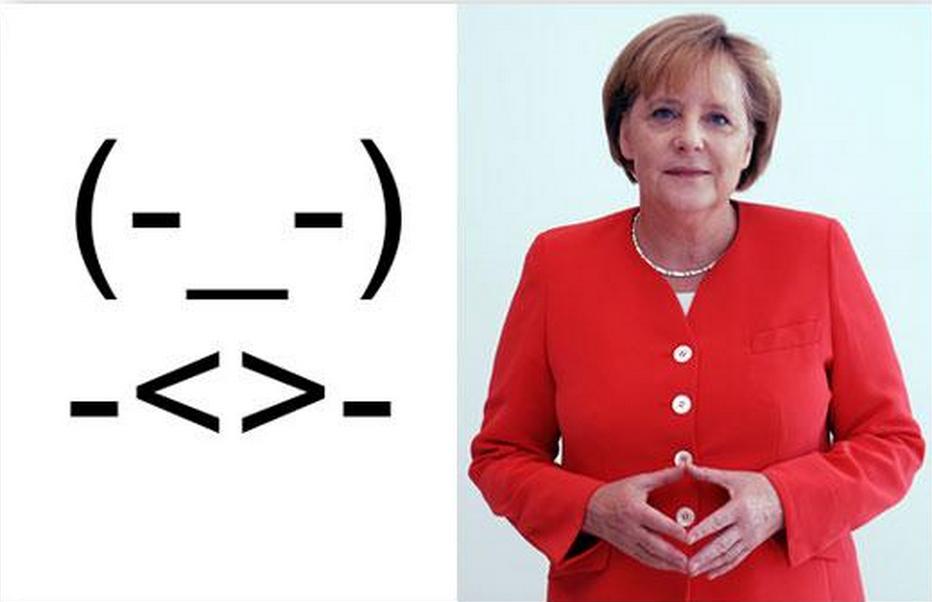 Merkel raute