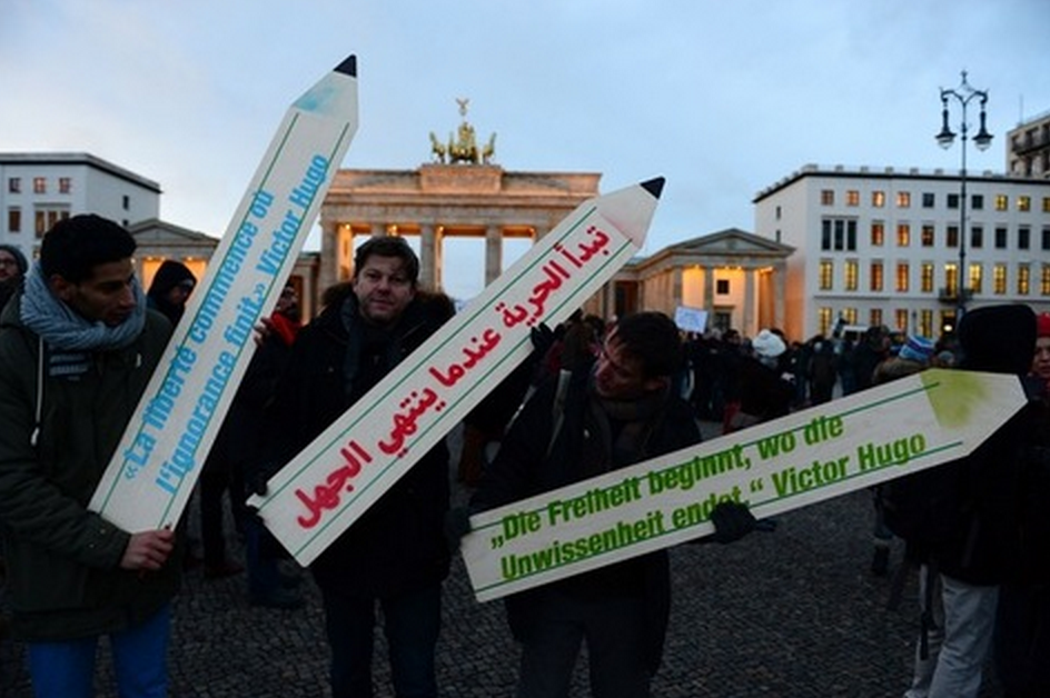 Rassemblement anti islamophobie berlin