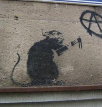 Rat de banksy 2