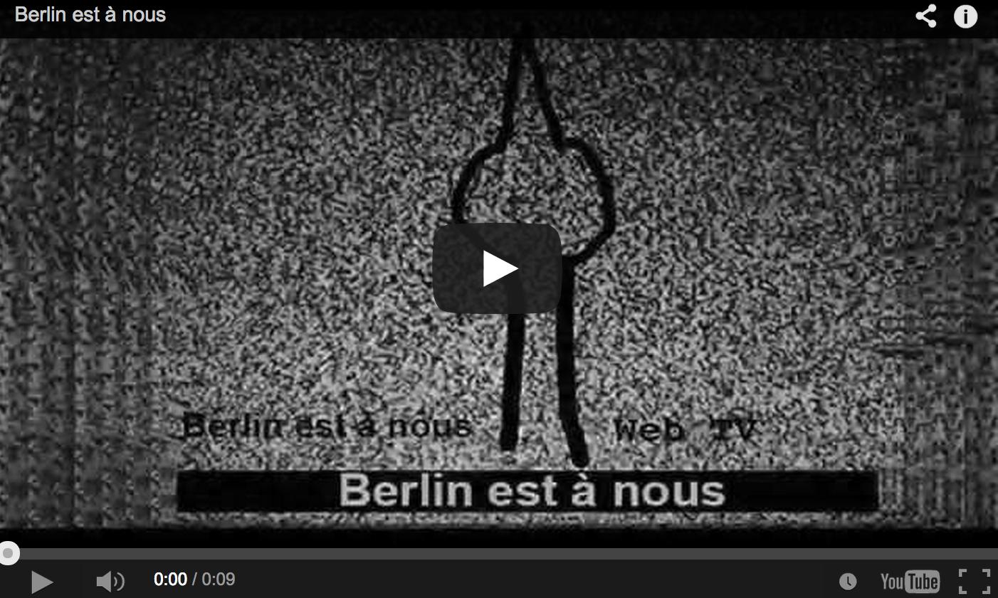 Teaser berlin est a nous
