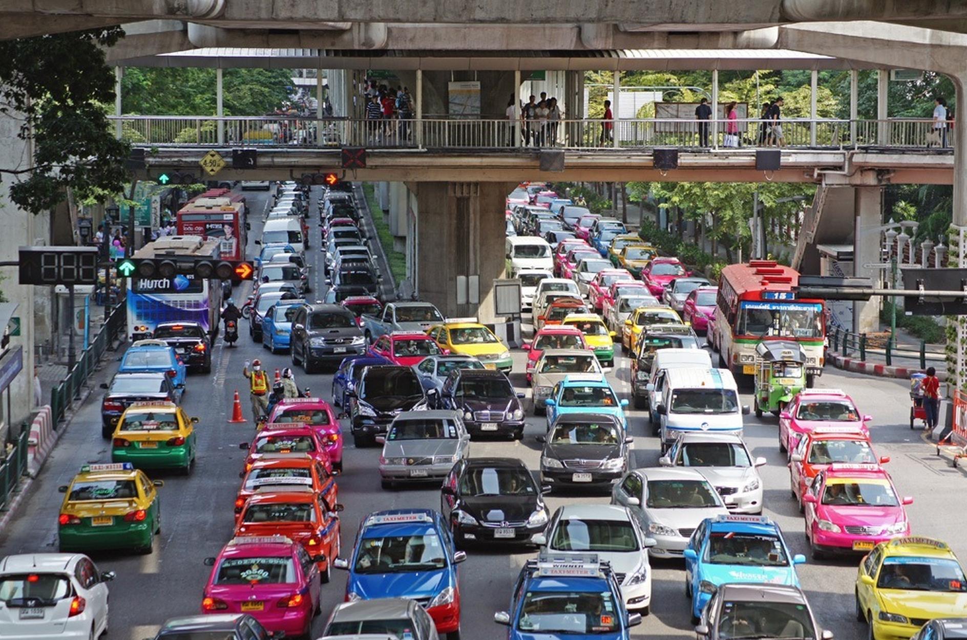 Villes europe ennes embouteille es