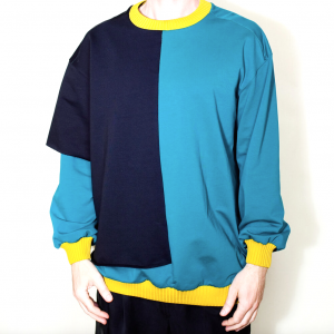 2 layers asymmetric sweater remesalt 5