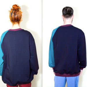 Asymmetric sweater remesalt 3