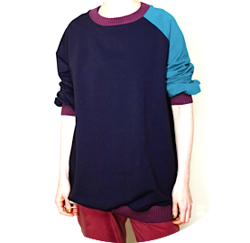 Asymmetric sweater remesalt