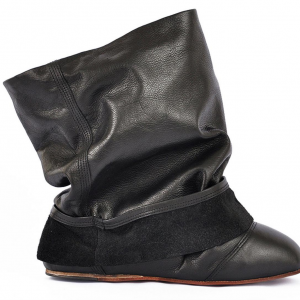 Ballet fake pant ankle boots miroike 1
