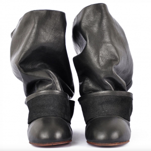 Ballet fake pant ankle boots miroike 2