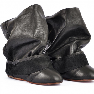 Ballet fake pant ankle boots miroike 3