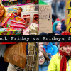Black Friday vs Fridays for Future