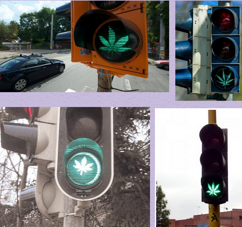 Cannabis ampel