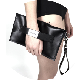Clutch black obectra