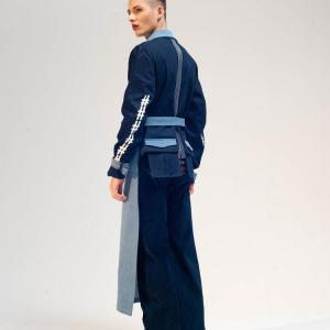 Cropped back trench damur 3