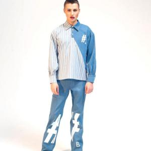 Denim shirt damur 1