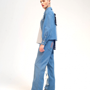 Denim shirt damur 2