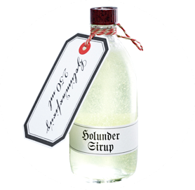 Elderflower sirup body wash tradition