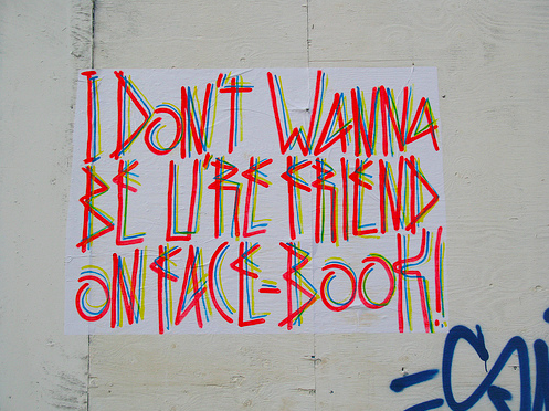 I don t wanna be u re friend on face book 2