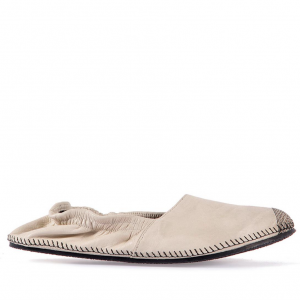 Leather espadrilles beige miroike 1