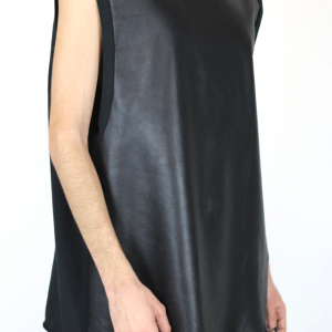 Leather unisex tank obectra 1