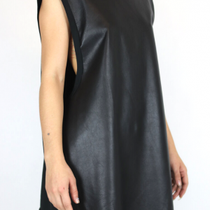 Leather unisex tank obectra 2