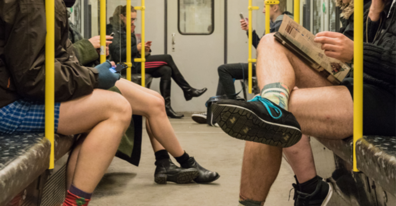 No pants subway ride sans pantalon dans le metro