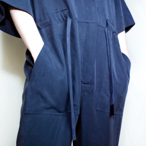 Oversize long overall dark blue remesalt 2