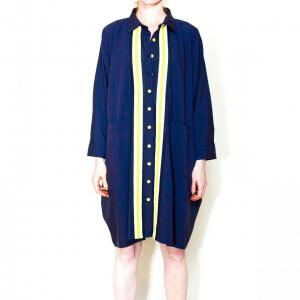 Oversize stripes shirt remesalt 2