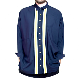 Oversize stripes shirt remesalt