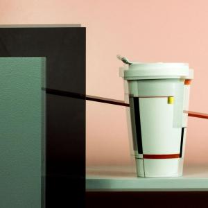 Porcelain to go cup bauhaus limited kpm 3