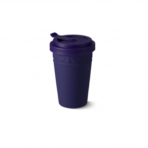 Porcelain to go cup blue kpm 1