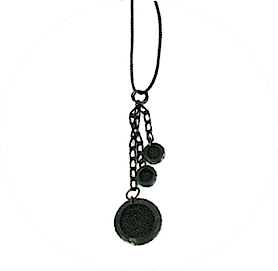 Shagreen charms necklace zo landing