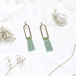 Tassel earrings caroline bitte danke 1