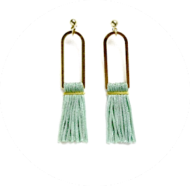 Tassel earrings caroline bitte danke