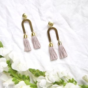 Tassel earrings rachel bitte danke 2