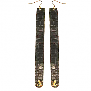 Z croco earrings zo landing 1